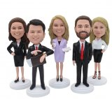 Custom Bobbleheads Groupon Corporate Annual Meeting gifts
