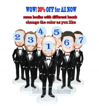 30% Off For Custom Bobble heads Groupon Groomsmen Gift Ideas