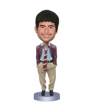 Custom Bobble Heads From Photo Gifts For Dad