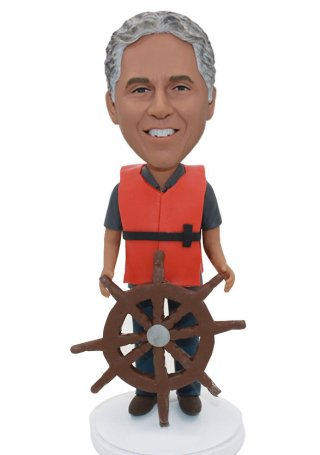 Custom Rudder Bobble Heads From Photo