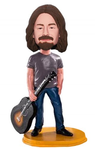Custom Guitarist Bobblehead Doll