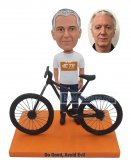 Creat Your Own Bike Bobble Head Doll