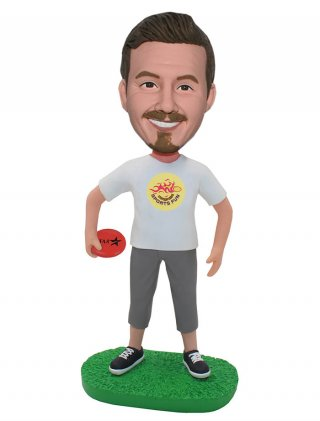 Custom Frisbee Movement Bobbleheads That Look Like You