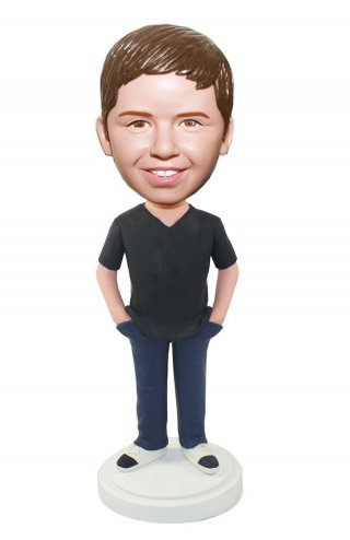 Custom Bobbleheads Boy