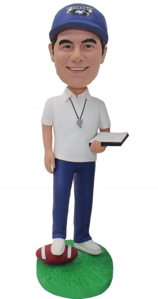 Best Custom Rugby Referees Bobblehead