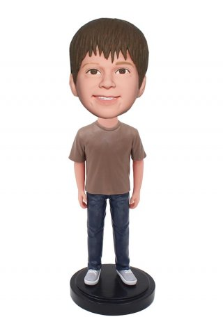 Custom Boy Bobble Heads Fast Gifts For Boys