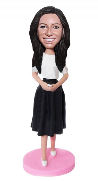Make Skirt Bobble Heads Custom Kilt