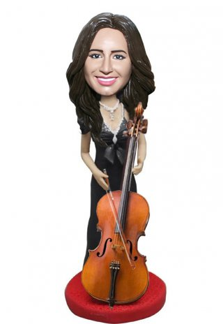 Custom Cello Personalized Bobble Heads Gifts For Friends