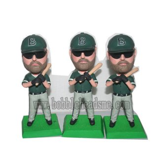 Baseball Player With Sun-glasses And The Bat Bobbleheads