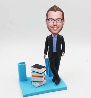 Bobble Heads Personalized Mens Gift Ideas Business Card