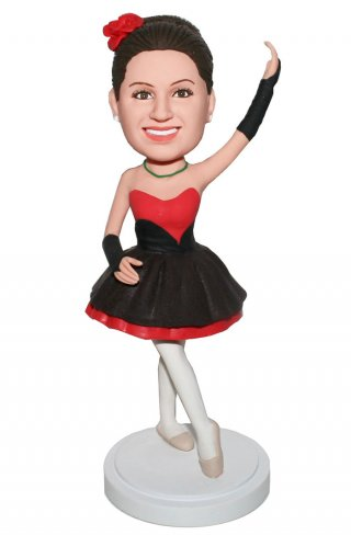 Custom Bobblehead Ballet Dancer