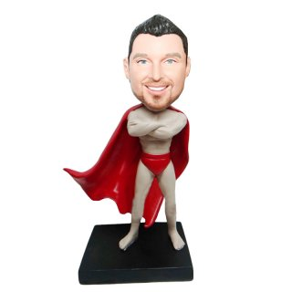 Arms Crossed Spartan Warrior Personalized Bobbleheads