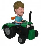 Tractor Riding On Road Custom bobblehead doll 1