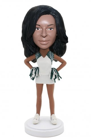 Custom Bobblehead Cheerleader