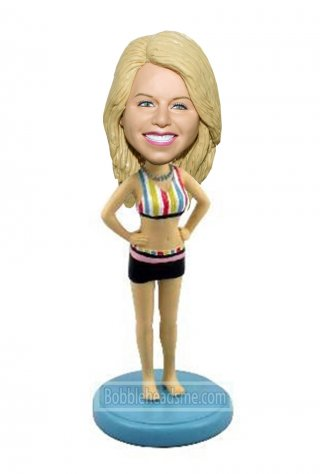 Sport Bobbleheads Doll Sexy Women Figurines