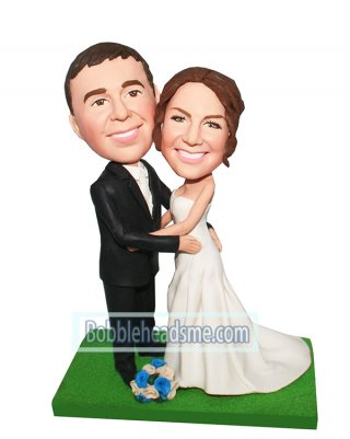 Personalized Bobbleheads Wedding