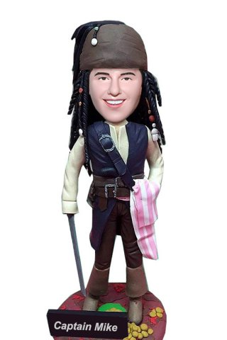 Custom Captain Jack Bobble Heads Pirates Of The Caribbean
