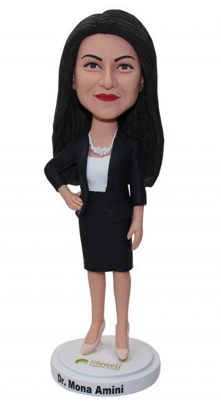 Custom Suit Bobbleheads Corporate Gifts