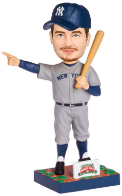 Custom MLB Bobbleheads The New York Yankees Player Holding A Bat