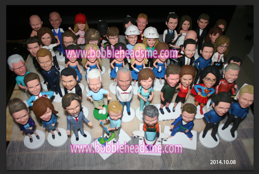completed bobbleheads