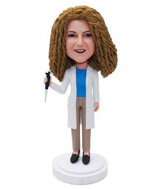 Custom Bobble heads Female Doctor Bobbleheads