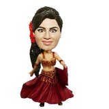 Female Dancer In Exotic Dress Custom Bobbleheads
