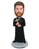 Customized Bobble Head Cross Baptism Gifts