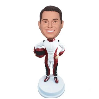 Bobble Head Racing Suits Best Friend Gifts