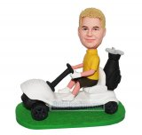 Customized Bobblehead Golf Cart