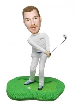 Golf Personalized Bobbleheads Doll Birthday Gifts For Men