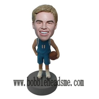 Number 11 Basketball Player Personalized Bobblehead