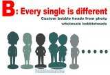 Every Single Is Different Bobblehead Cases Wholesale 2+