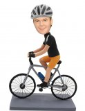 Custom Mountain Biker Bobbleheads