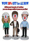 Group Buying Custom Engineer Bobbleheads With Blueprint Three In One Base