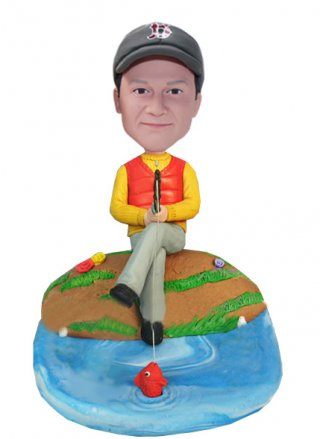Custom Fishing Bobble Heads From Photos