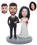 Cheap Custom Bobblehead Wedding