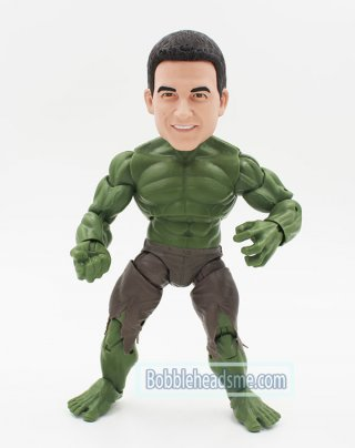 Custom Hulk Bobblehead Action Dolls