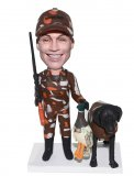 Custom Hunting Bobble Heads From Photo Handmade Gifts