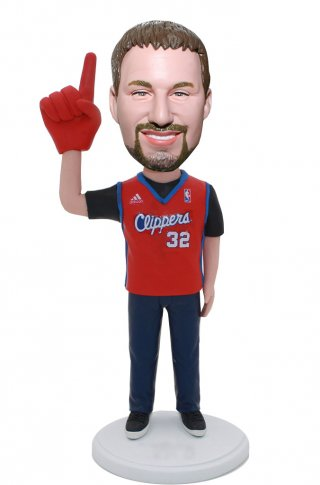 Make Your Own Bobble Head Foam Finger