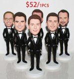 Custom Bobblehead Groupon Wholesale Cheap 8+