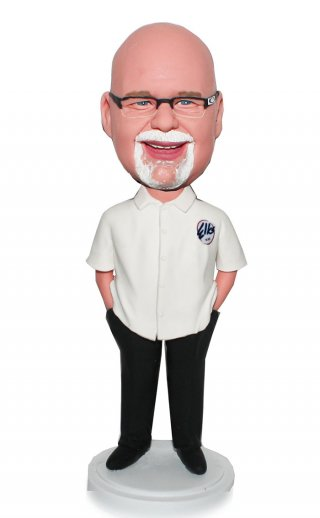 Custom Chef Bobblehead Doll