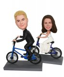 Custom Wedding Biker Cake Toppers